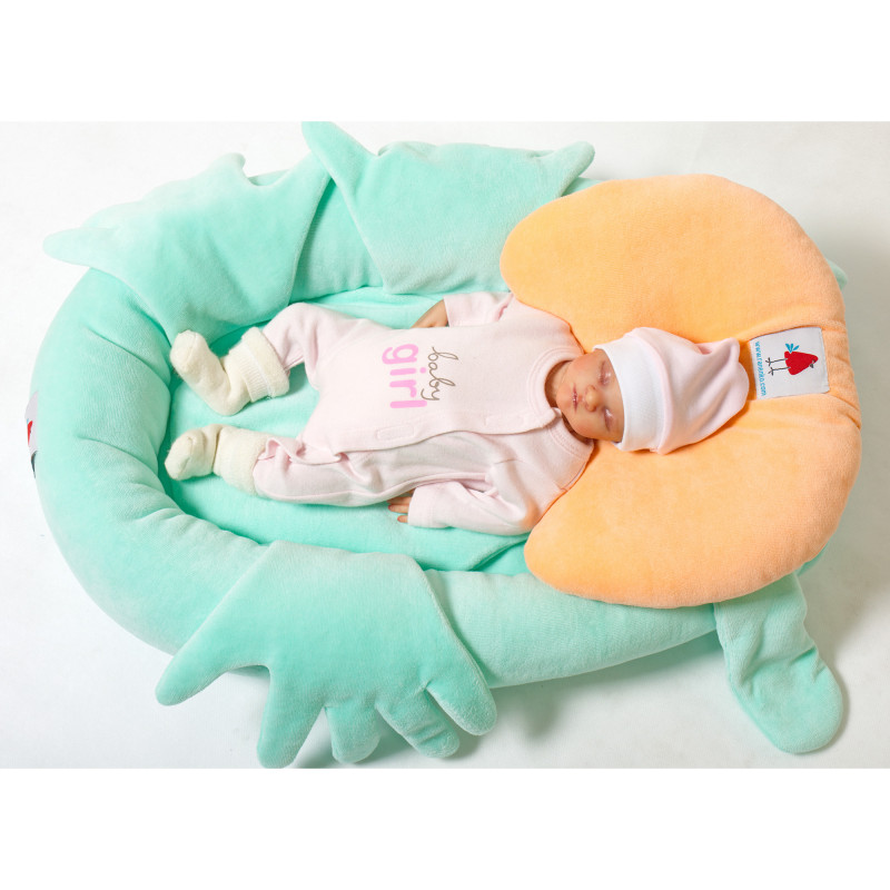 Orthopedic pillow for premature babies
