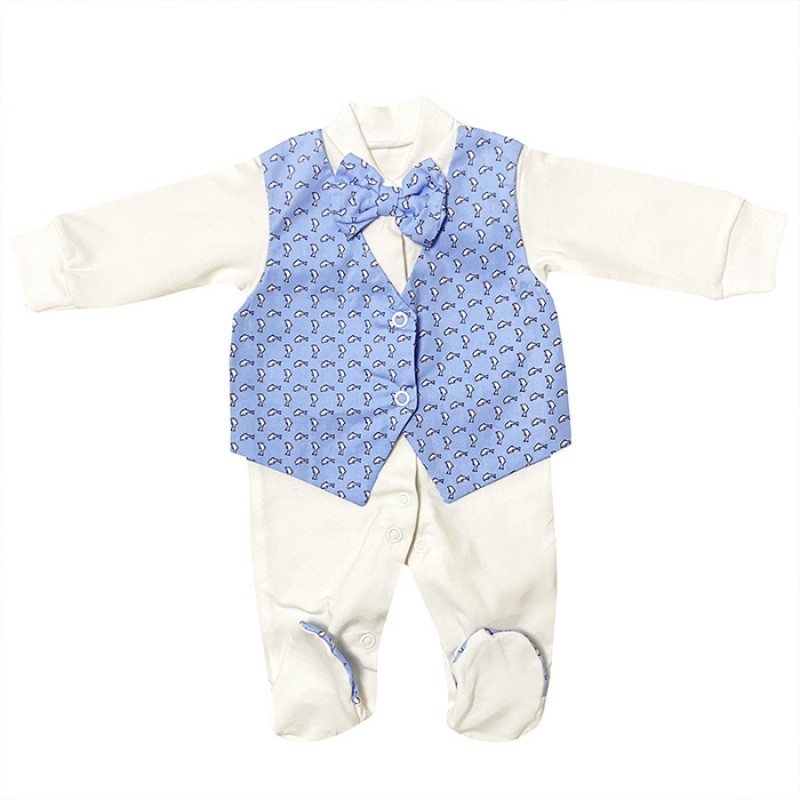 Maternity hospital withdrawal Set for the boy (light-blue)