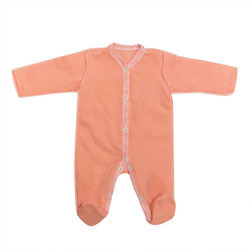 Комбинезон баевый персикового цвета