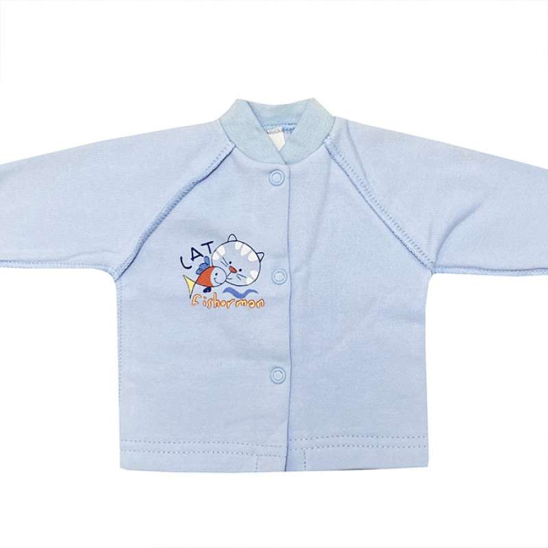 Blue undershirt
